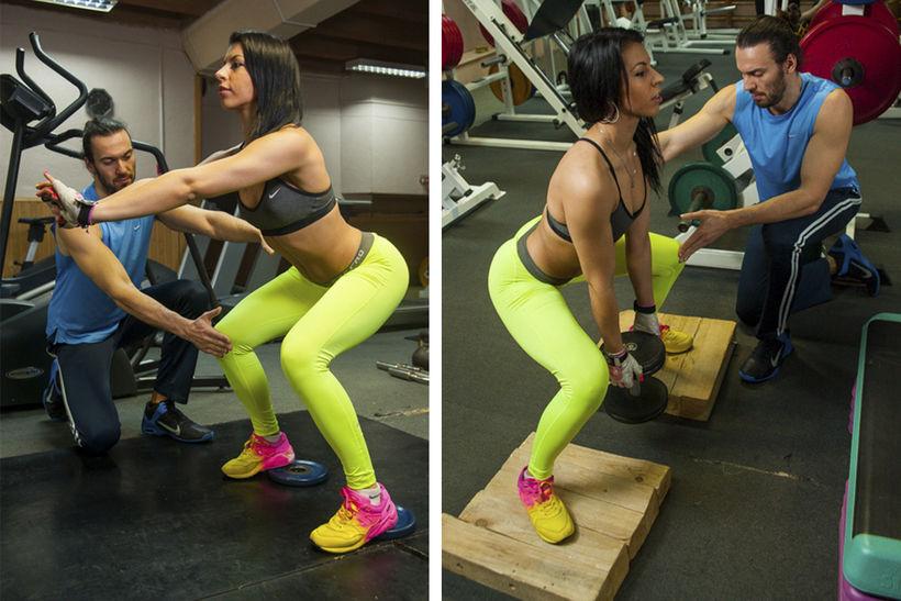 Засунула смотреть порно девушки пришли на тренировки по фитнесу